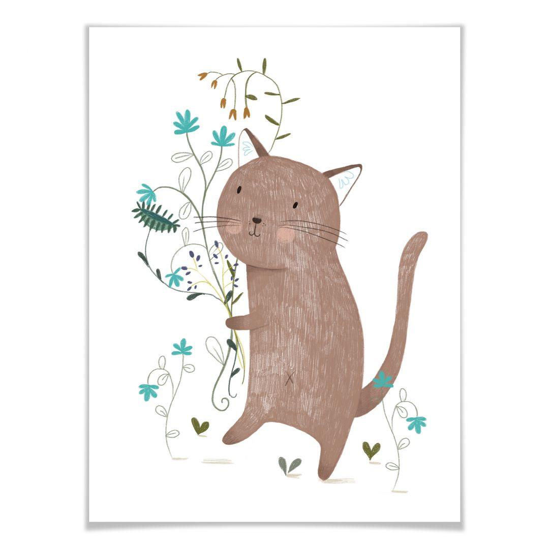 Poster Loske - Kleine Katze - WA258561