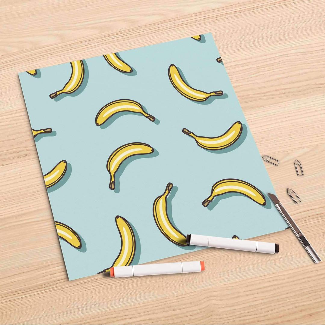 Folienbogen (30x30cm) - Hey Banana - CR106856