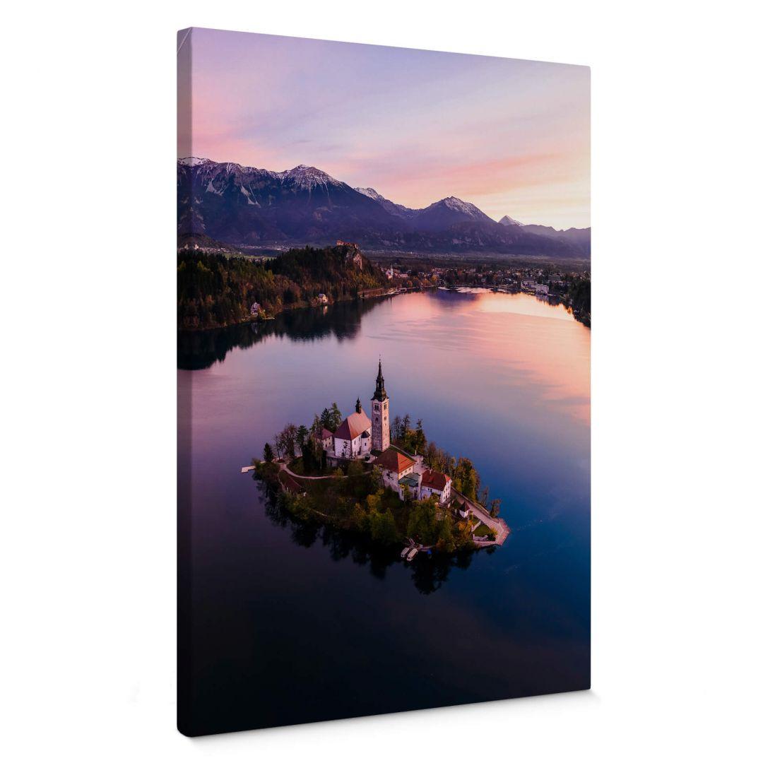 Leinwandbild Colombo - Bleder See in Slowenien - WA253948