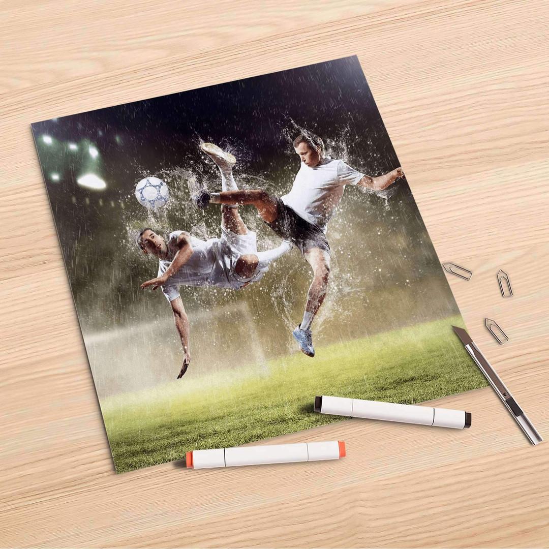Folienbogen (30x30cm) - Soccer - CR106939