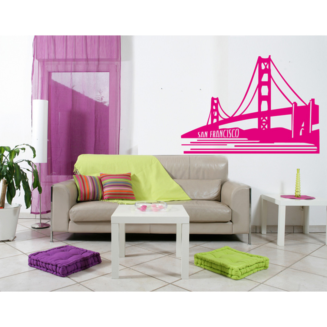 Wandtattoo San Francisco Goldengate - TD16924