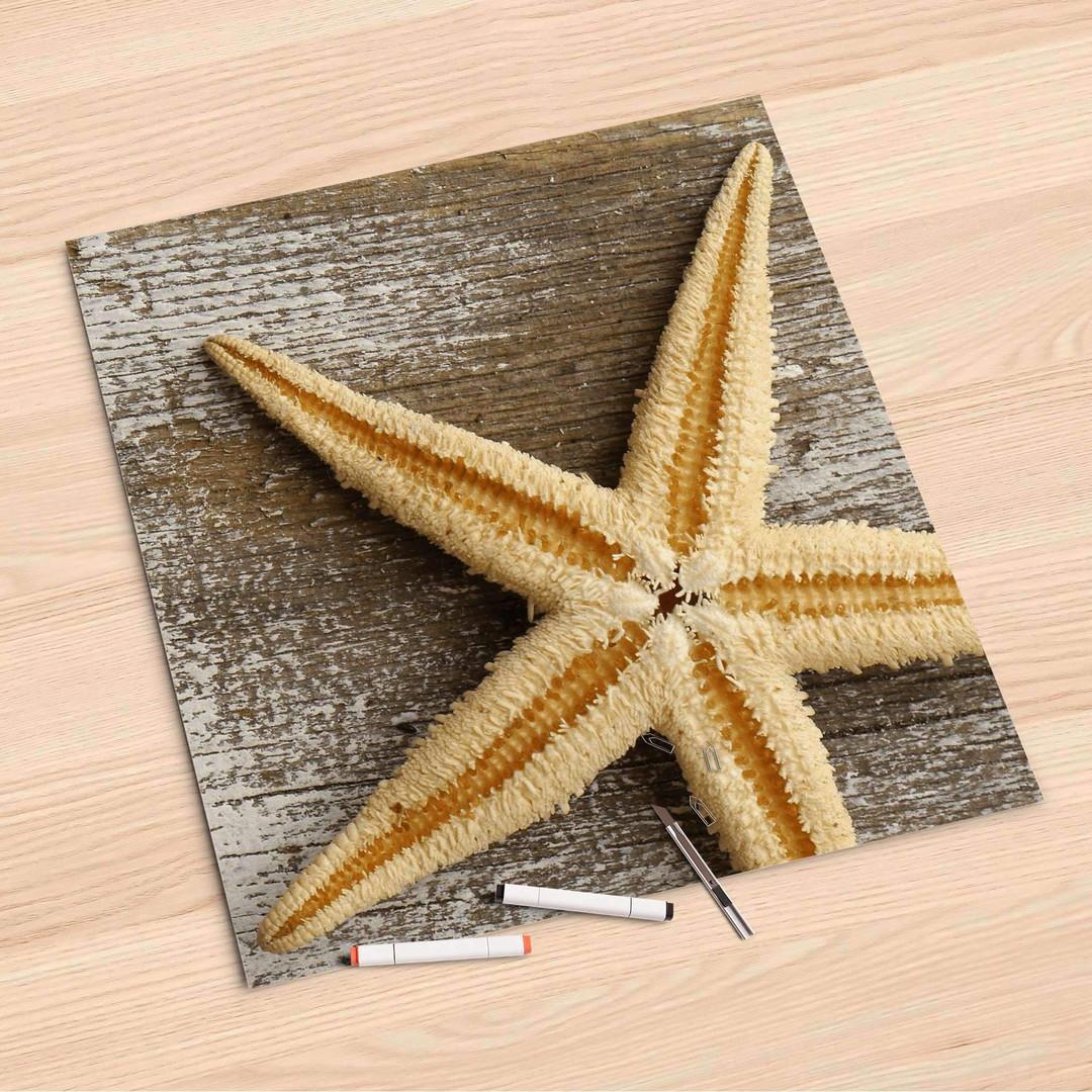 Folienbogen (60x60cm) - Starfish - CR107195