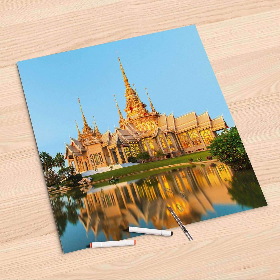 Folienbogen (60x60cm) - Thailand Temple - CR107215
