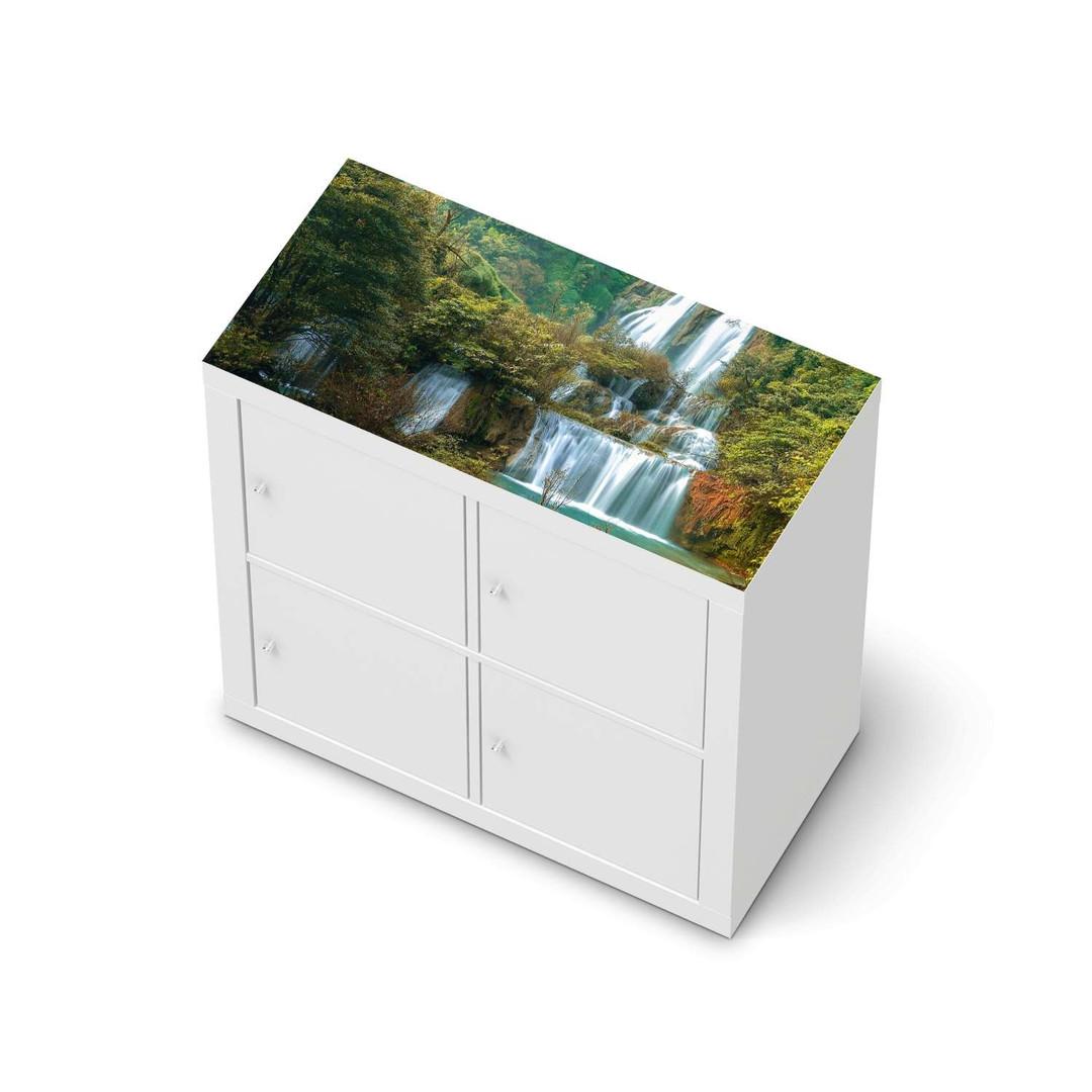 Möbelfolie IKEA Expedit Regal oben - Rainforest - CR114662