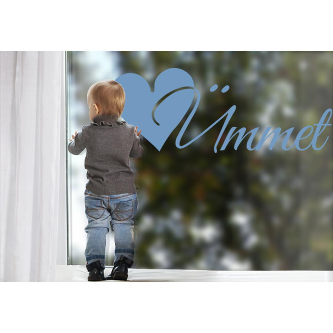 Glasdekor Wunschtext Initiale Ü - CG10558