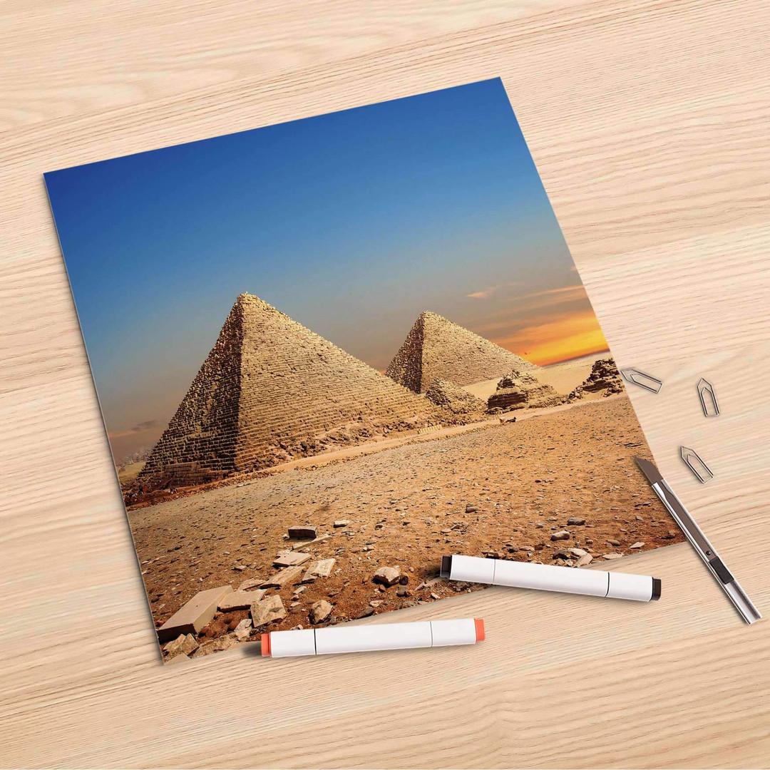 Folienbogen (30x30cm) - Pyramids - CR106914