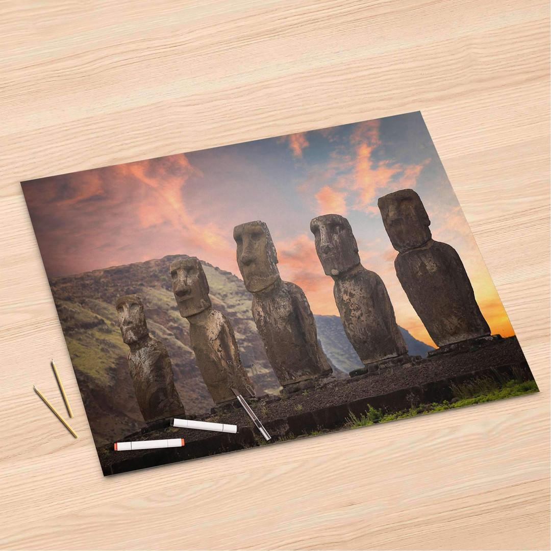 Folienbogen (120x80cm) - Easter Island - CR106361