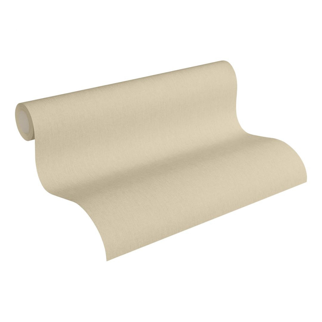 Vliestapete Premium Wall Tapete Unitapete beige - WA251063