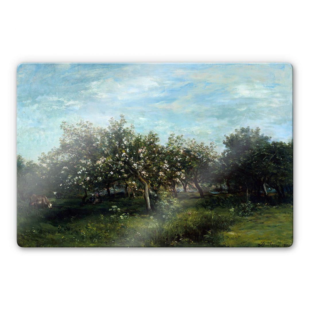 Glasbild Daubigny - Apfelblüte - WA252743