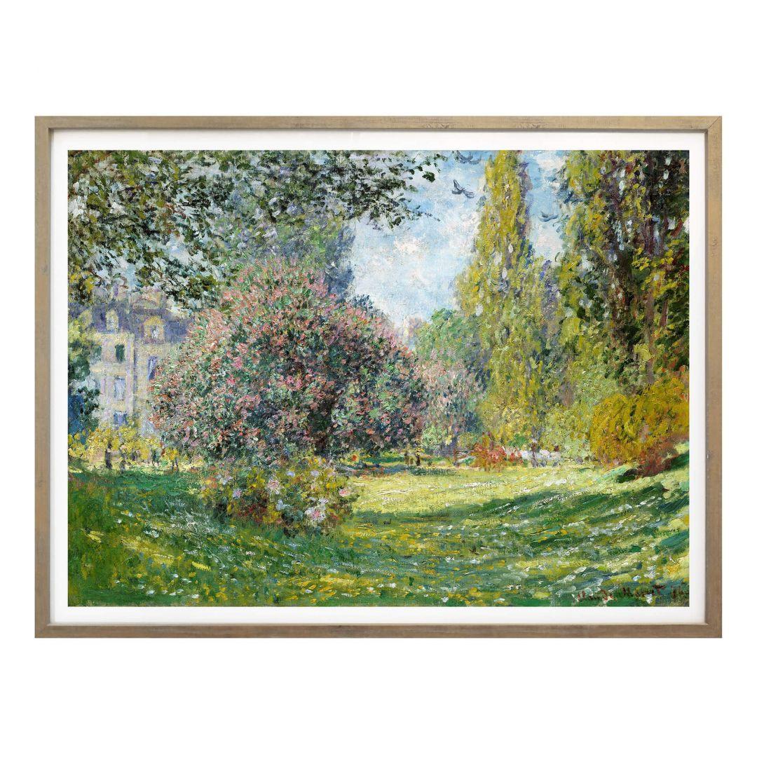 Poster Monet - Der Park Monceau - WA258692