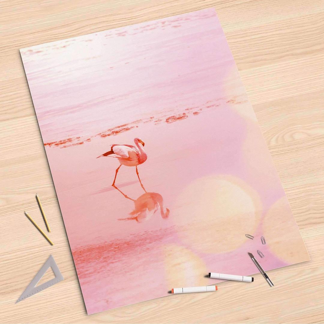 Folienbogen (80x120cm) - Mr. Flamingo - CR107377