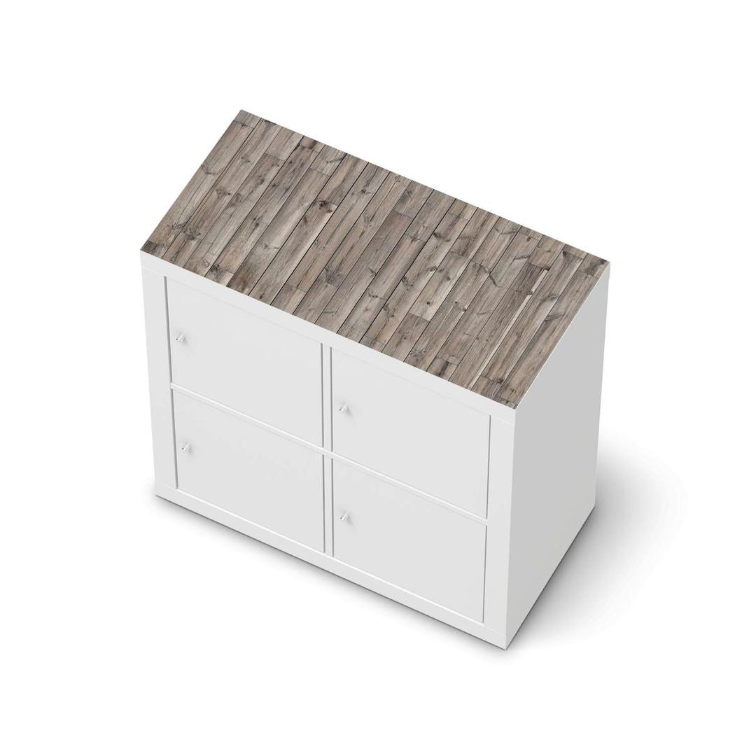 Möbelfolie IKEA Expedit Regal oben - Dark washed - CR114621