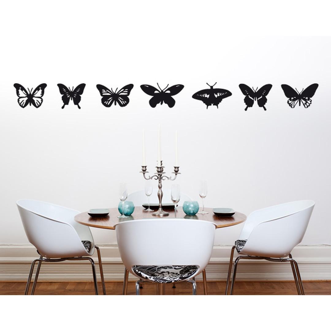 Wandtattoo Schmetterlingsammlung - TD16335