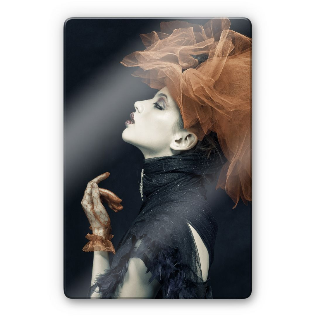 Glasbild Yogasara - Imperious Lady - WA253038