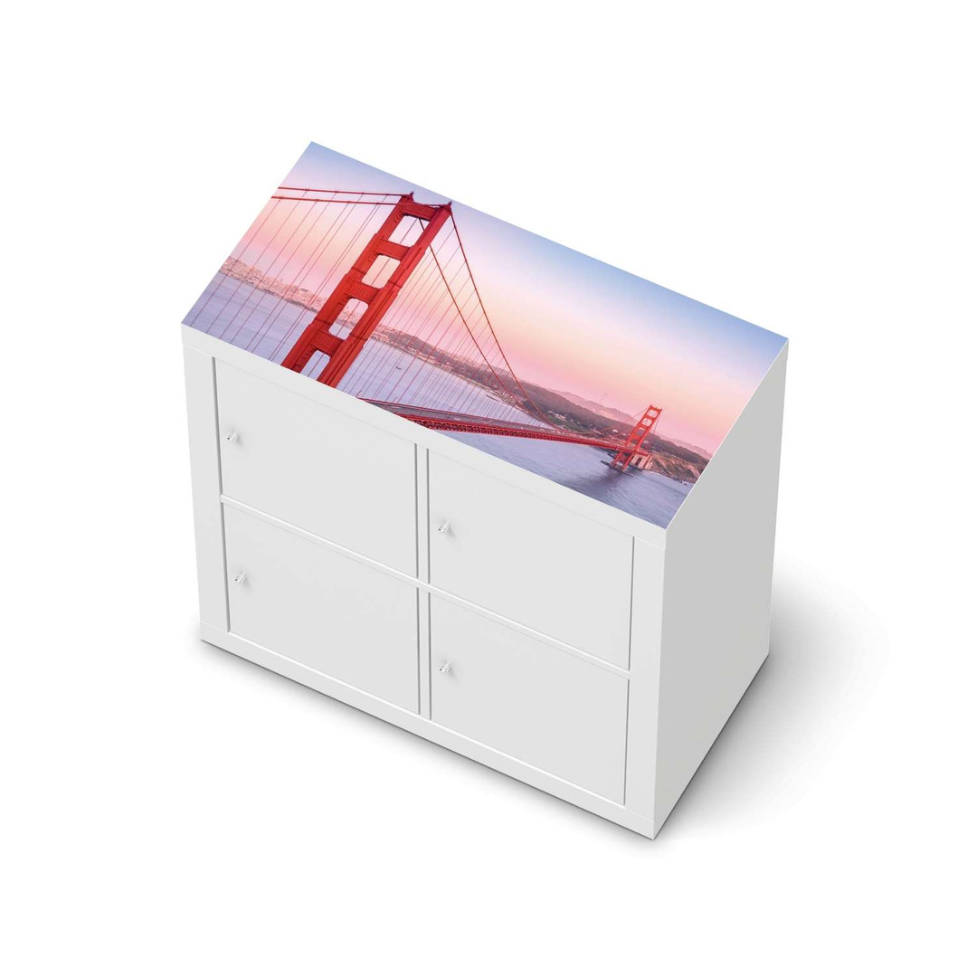 Möbelfolie IKEA Expedit Regal oben - Golden Gate - CR114633