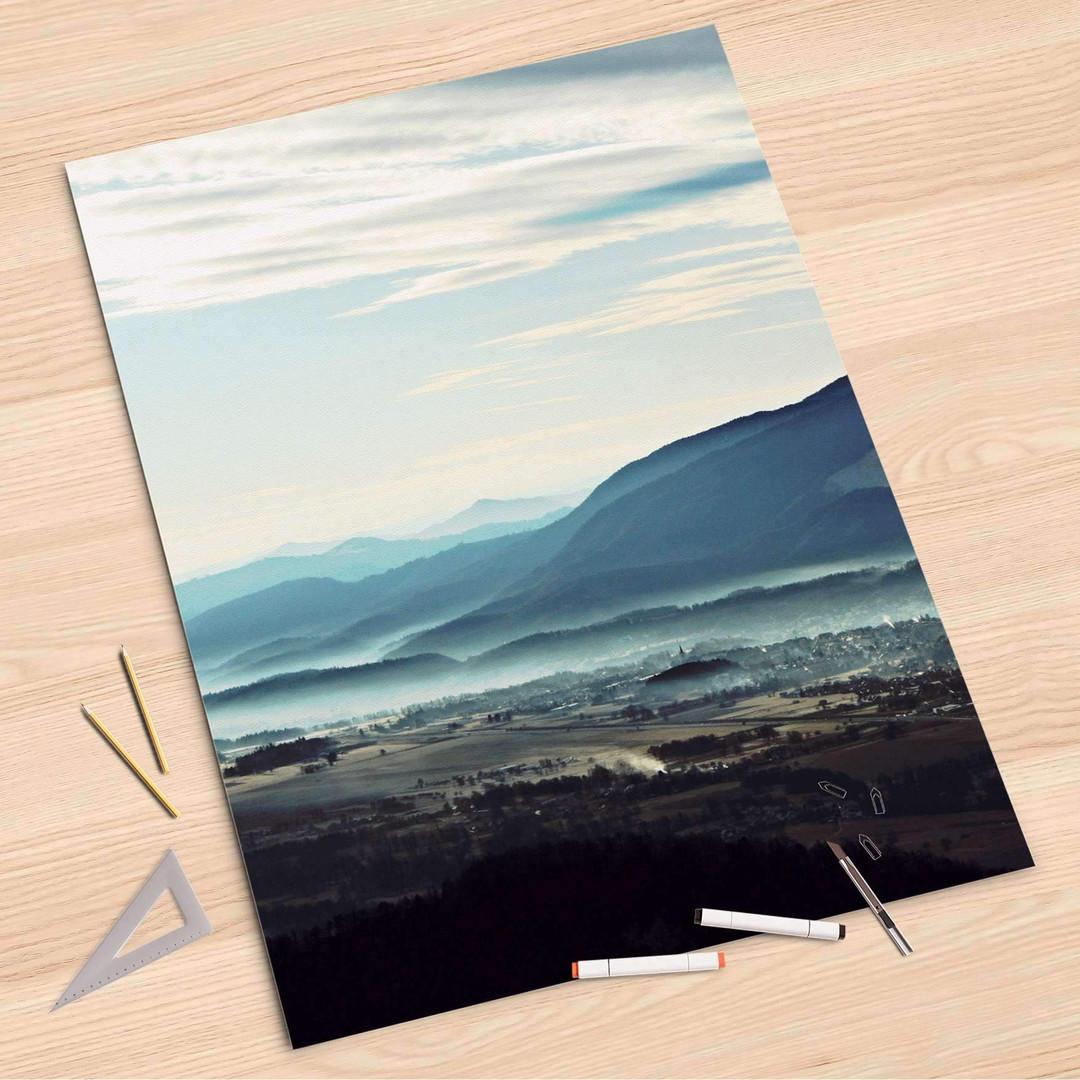 Folienbogen (80x120cm) - Fog Village - CR107322