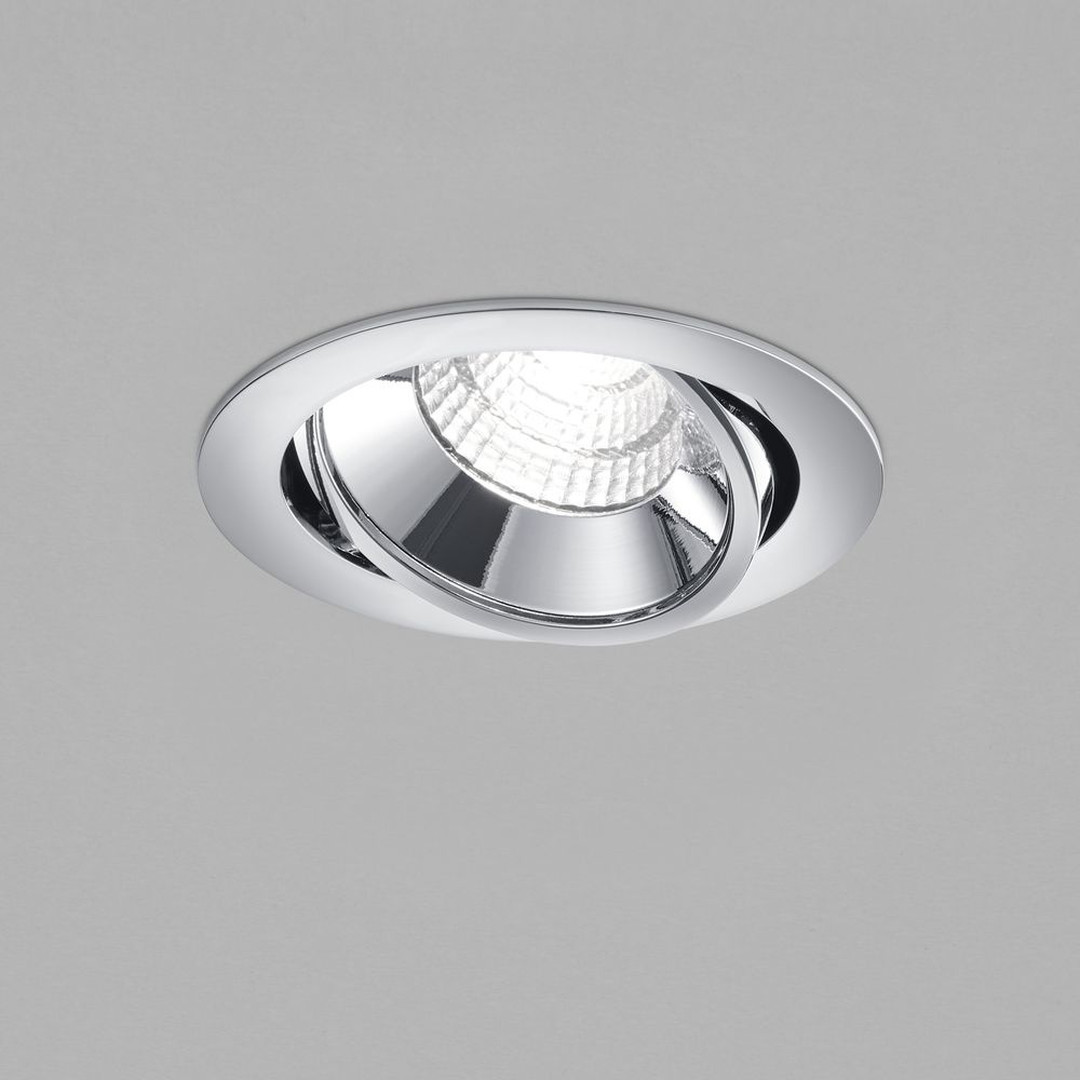 LED Deckeneinbaustrahler Sid in Chrom 10W 890lm IP65 - CL119790