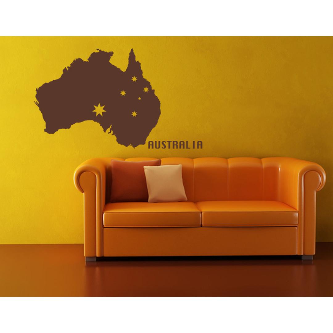 Wandtattoo Australia - TD16226