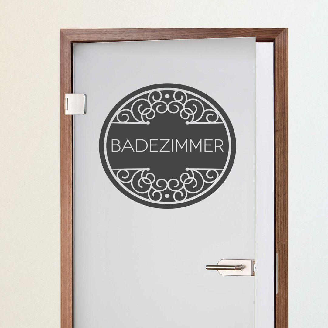 Wandtattoo Badezimmer 03 Trenddeko Ch