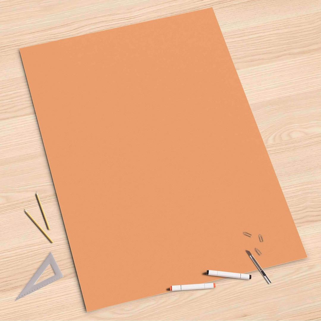 Folienbogen (80x120cm) - Orange Light - CR107383