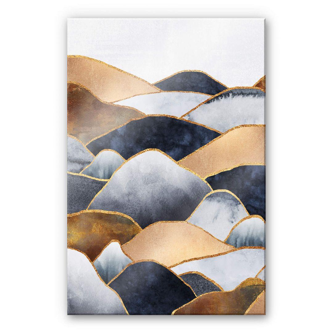 Acrylglasbild Fredriksson - Goldene Hügel - WA251687