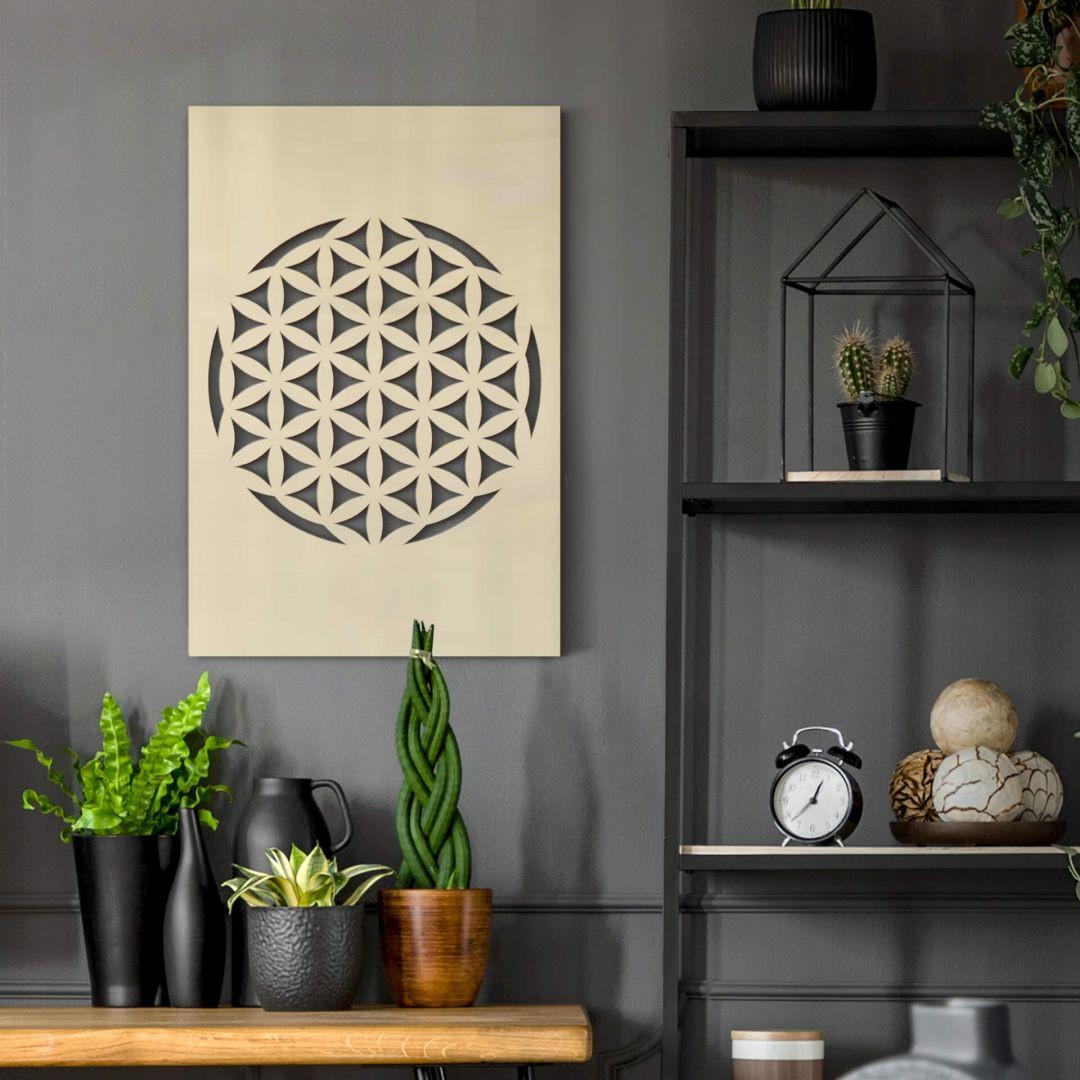Dekobild Pappel - Blume des Lebens - WA288692