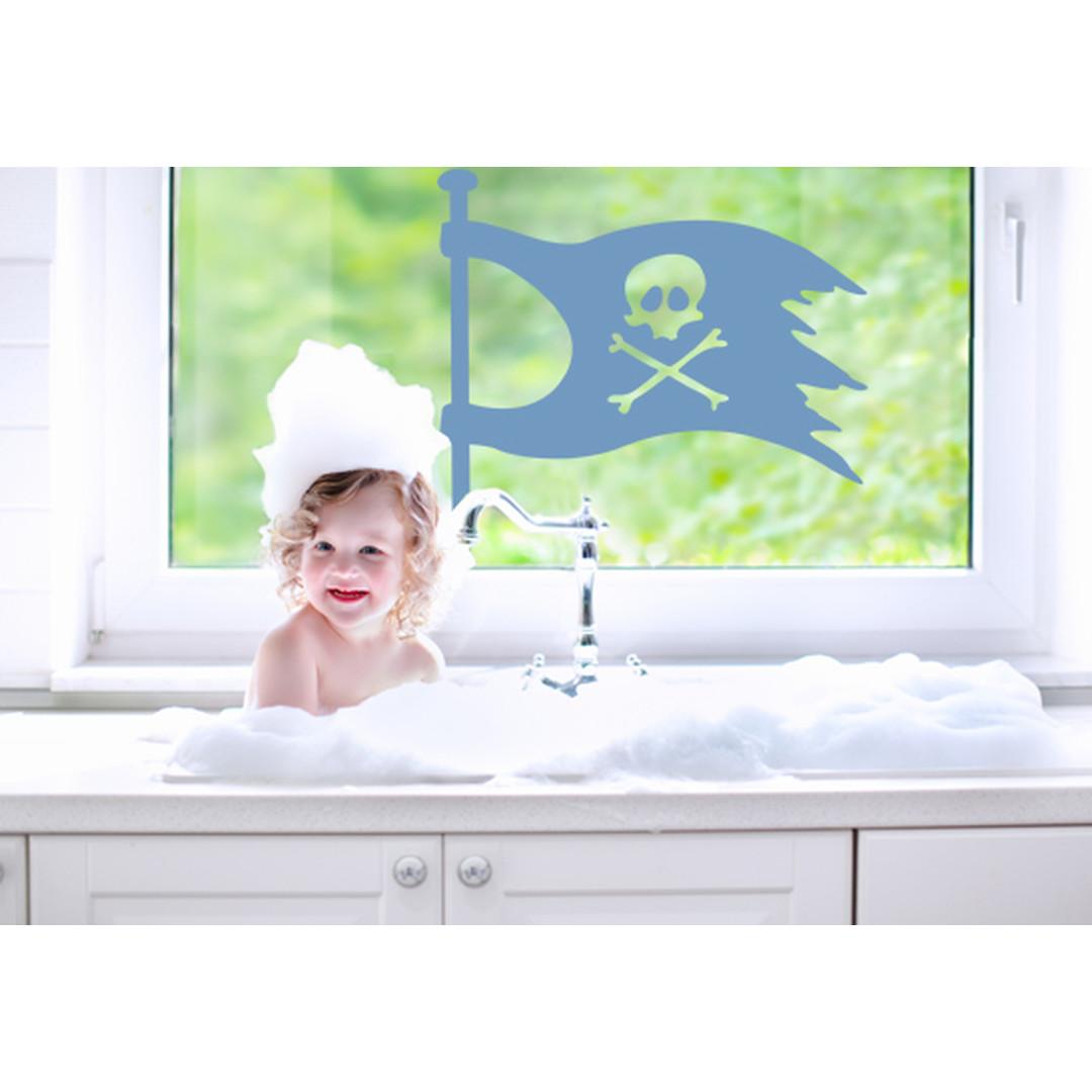 Glasdekor Piratenflagge - CG10386