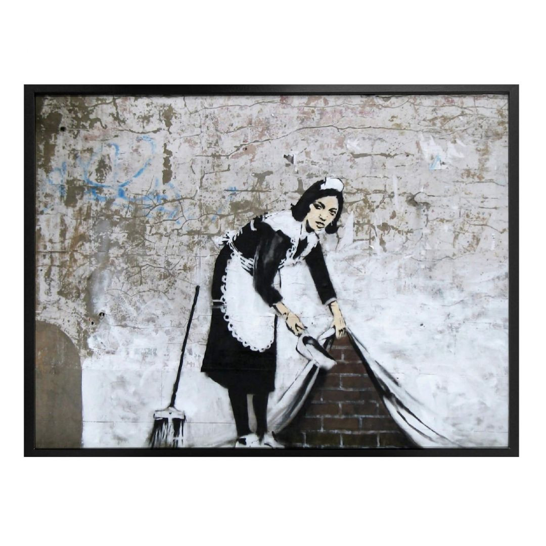 Poster Banksy - Maid in London - WA256788