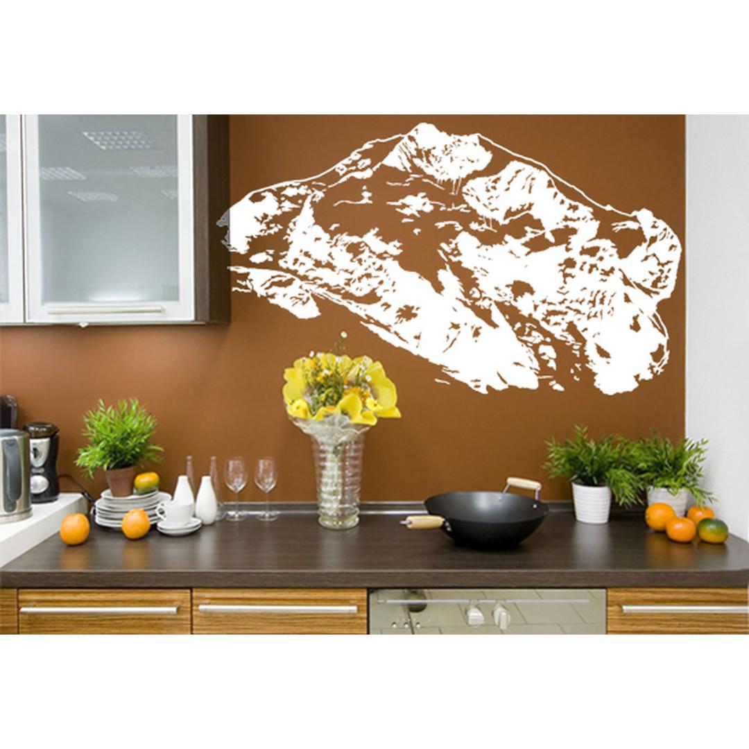 Wandtattoo Berg Piz Bernina - CG10053