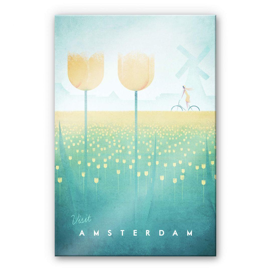 Acrylglasbild Rivers - Amsterdam - WA251847