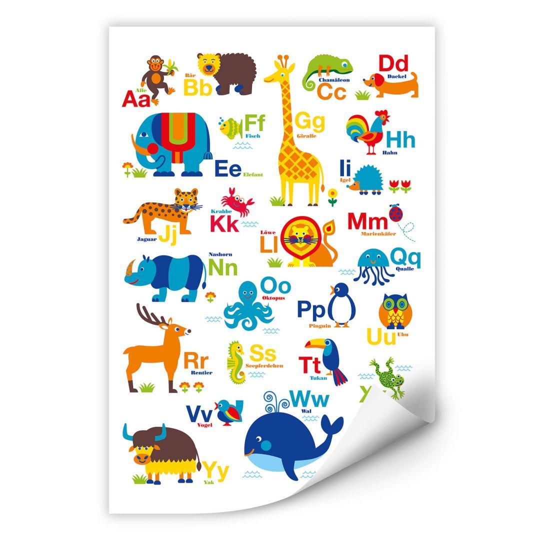 Wallprint byGraziela - ABC Tiere - WA283627
