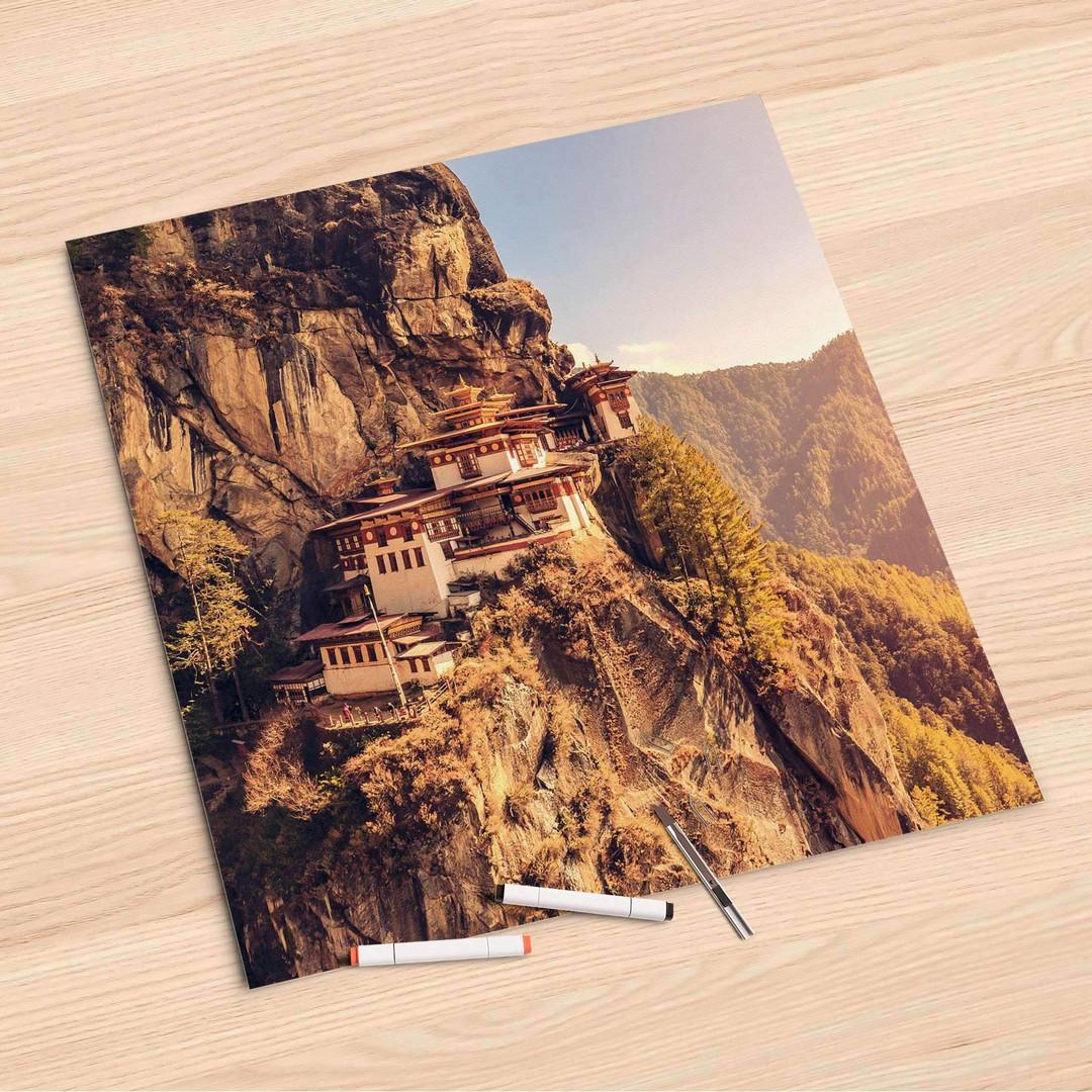 Folienbogen (60x60cm) - Bhutans Paradise - CR107021