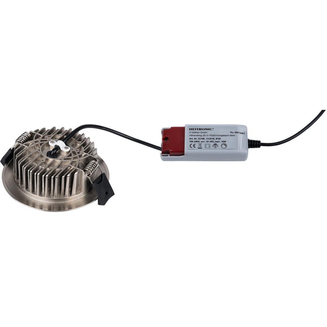 LED Einbaustrahler rund 13W IP54 3000K 900lm - CL119556