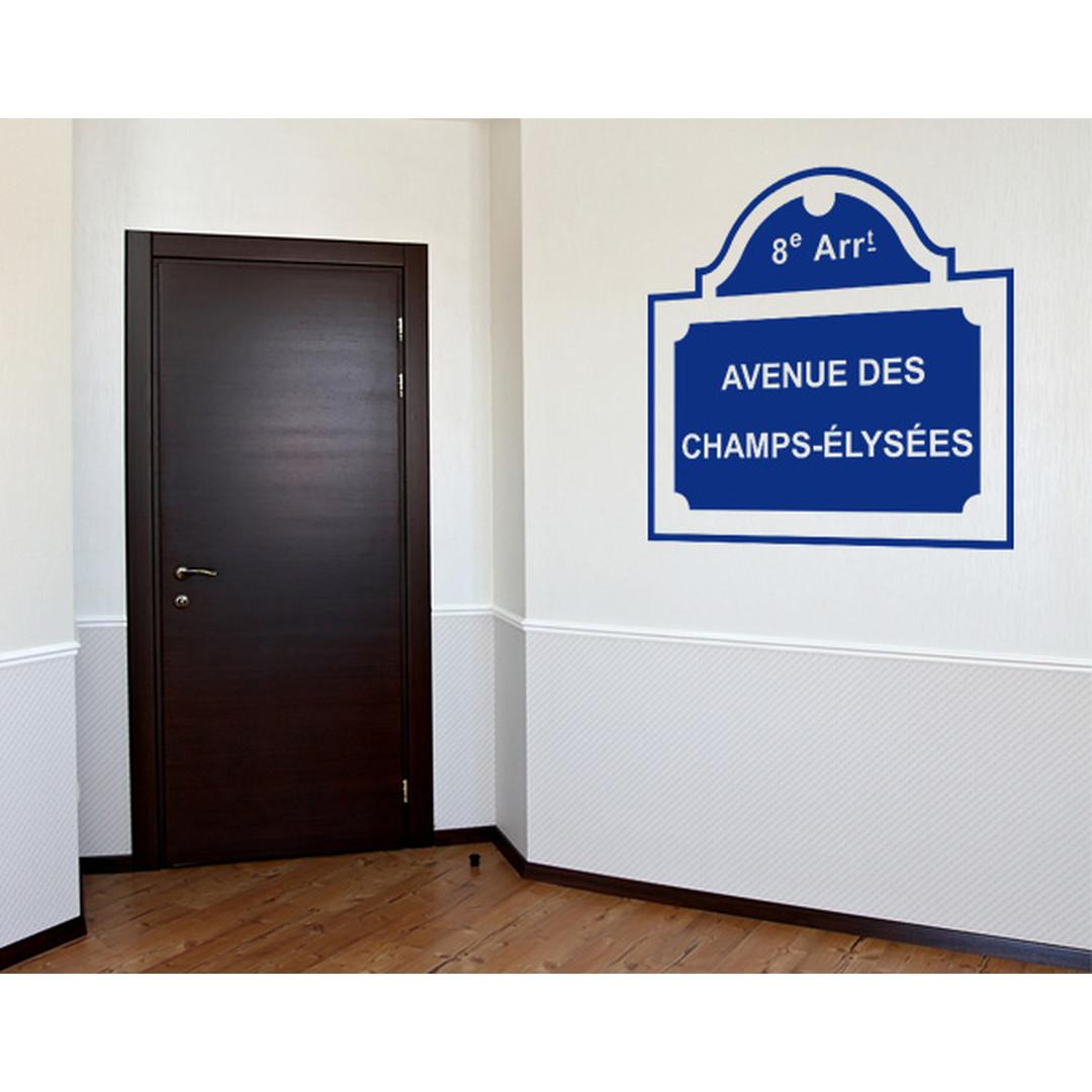 Wandtattoo Champs-Èlysées - TD16121