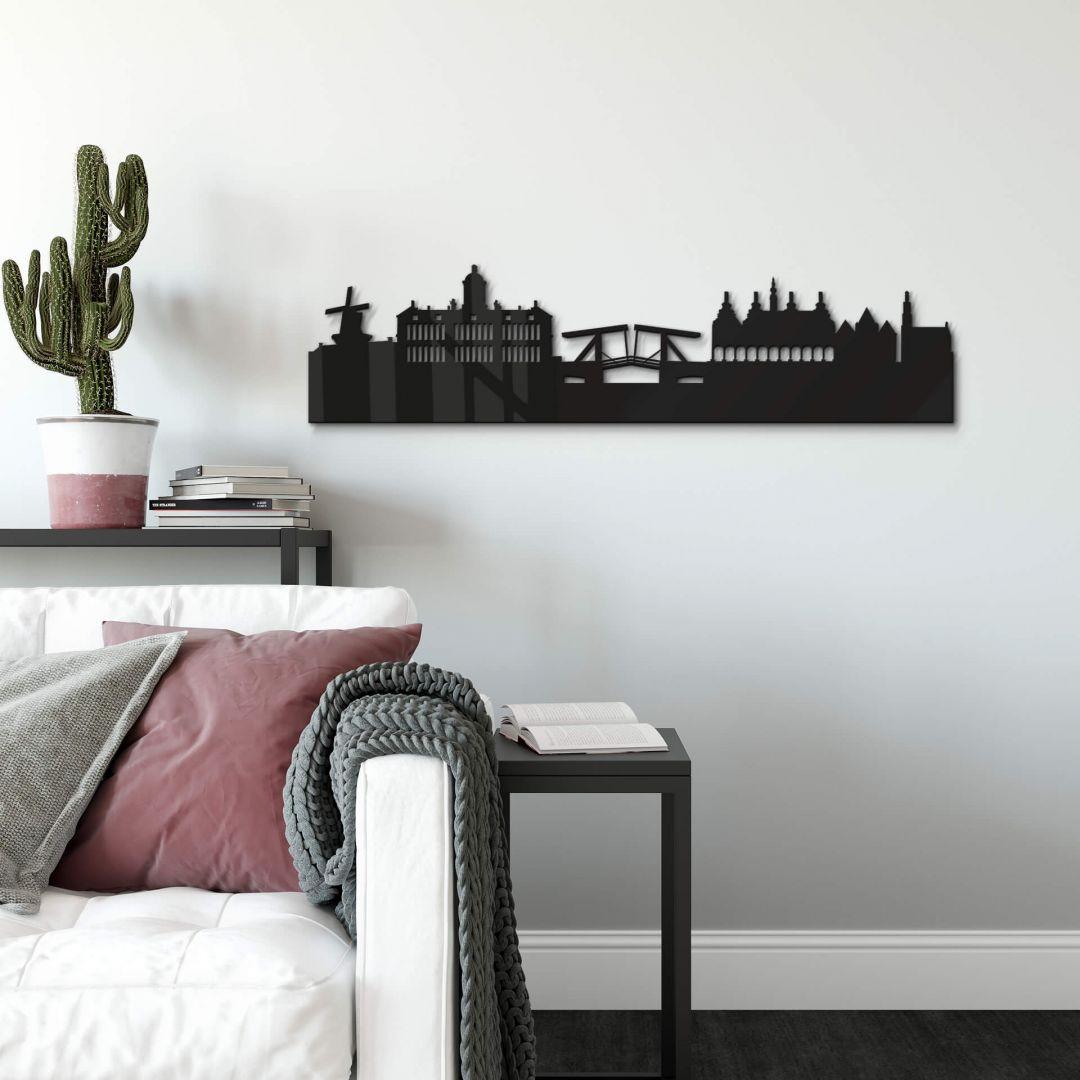 Acryldeko Skyline Amsterdam - WA251492