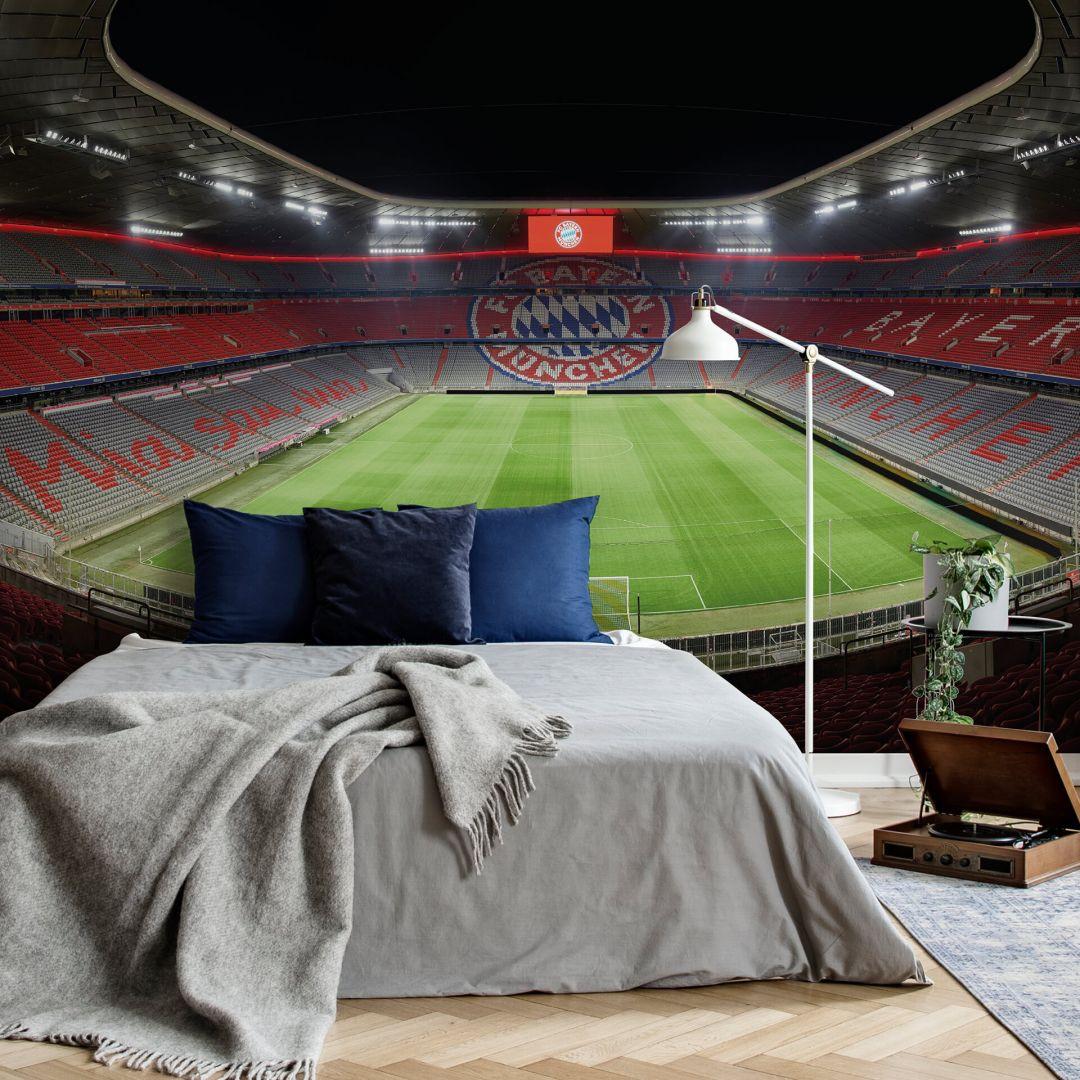 Fototapete FCB Stadion bei Nacht - WA252472