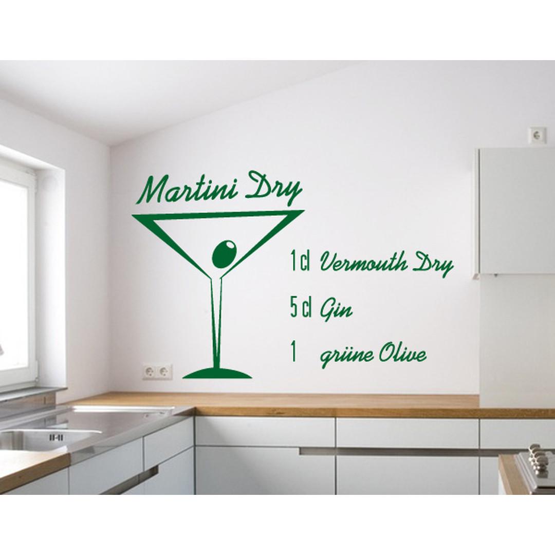 Wandtattoo Martini Dry - TD16049