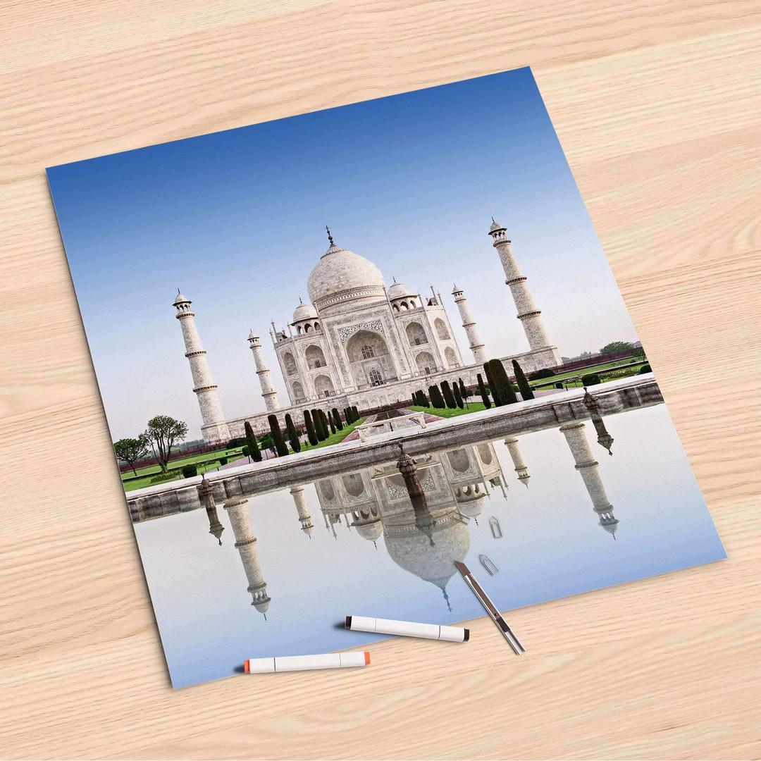 Folienbogen (60x60cm) - Taj Mahal - CR107209