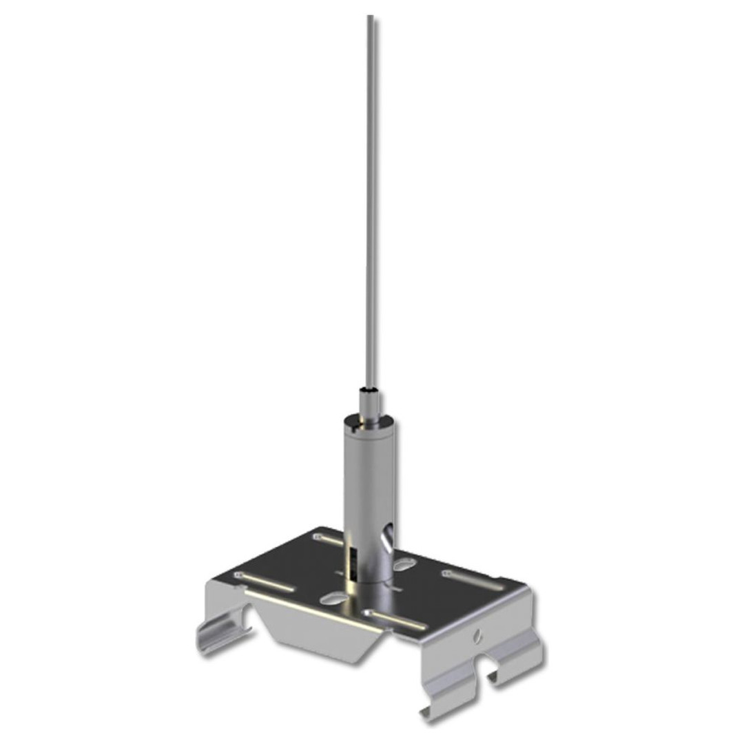 FastFix LED Linearsystem Stahlseilabhängung 2m inkl. Montageclip - CL120465