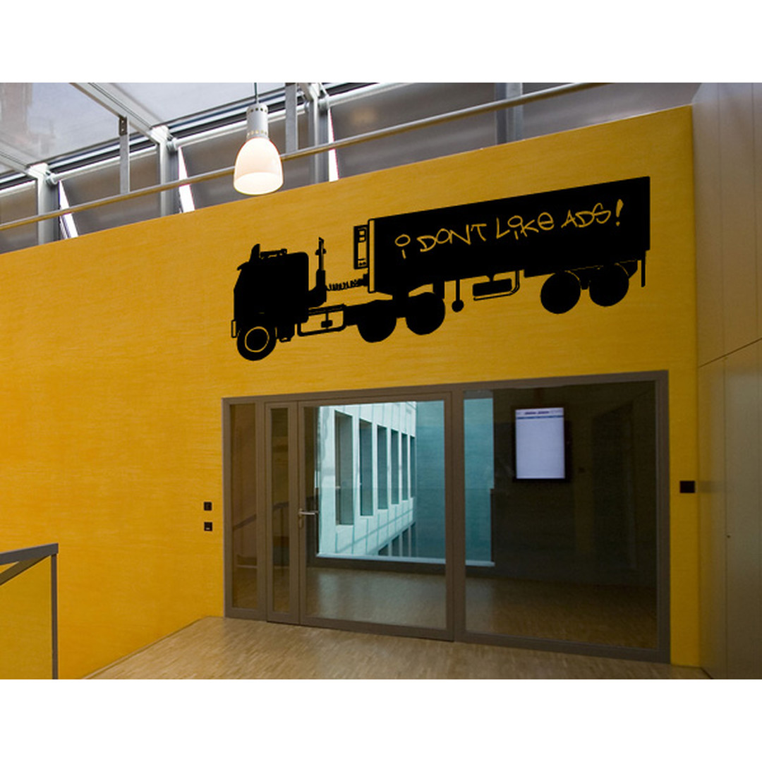 Wandtattoo Lastwagen - TD16474