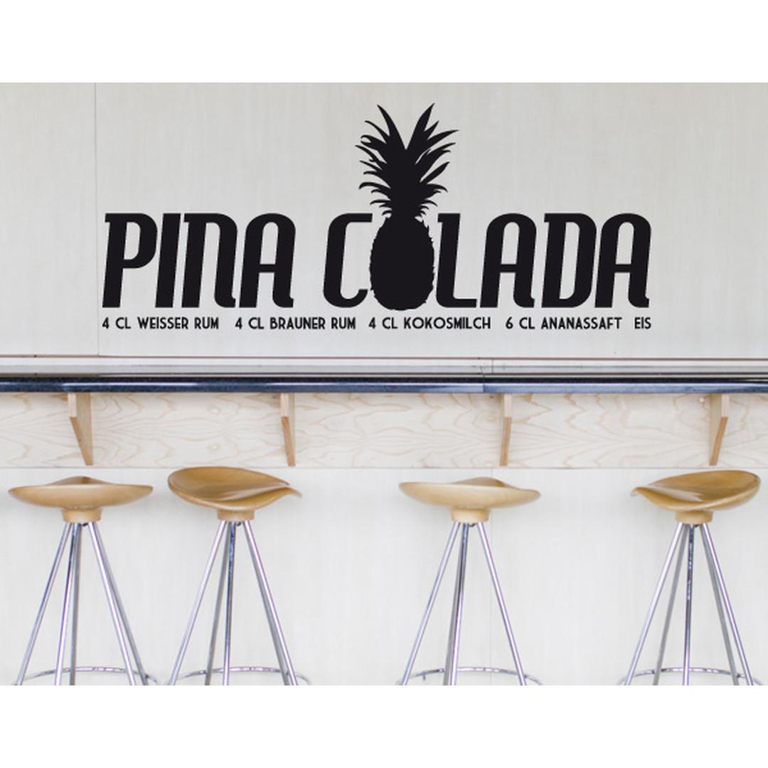 Wandtattoo Pina Colada - TD16054