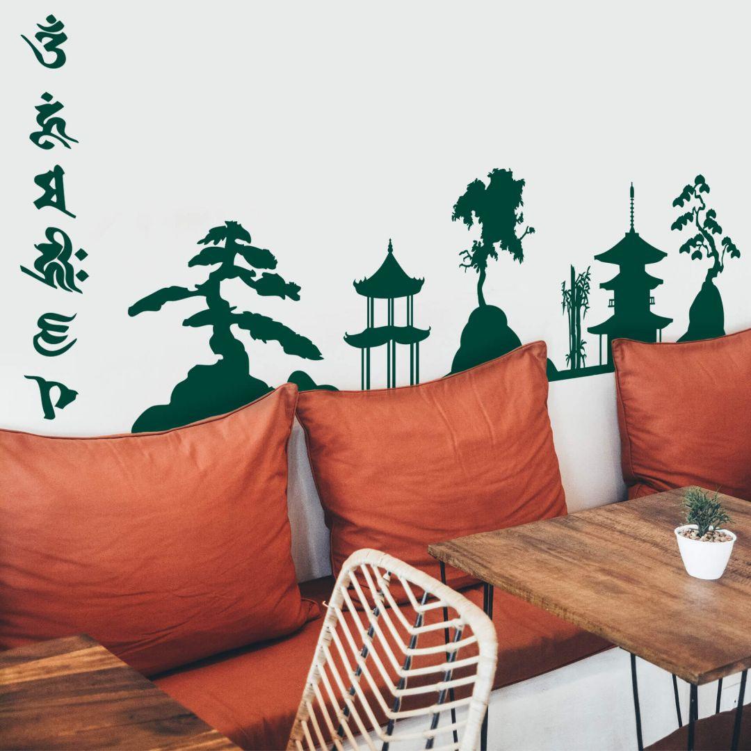 Wandtattoo Asia Skyline - WA287670