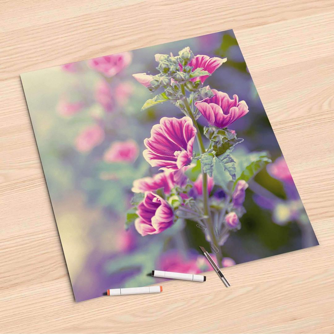 Folienbogen (60x60cm) - Flower Gaze - CR107072