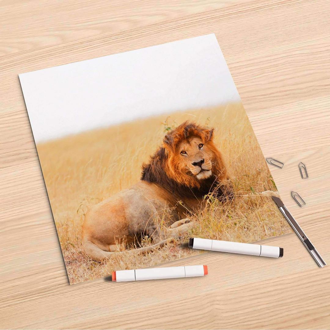 Folienbogen (30x30cm) - Lion King - CR106870