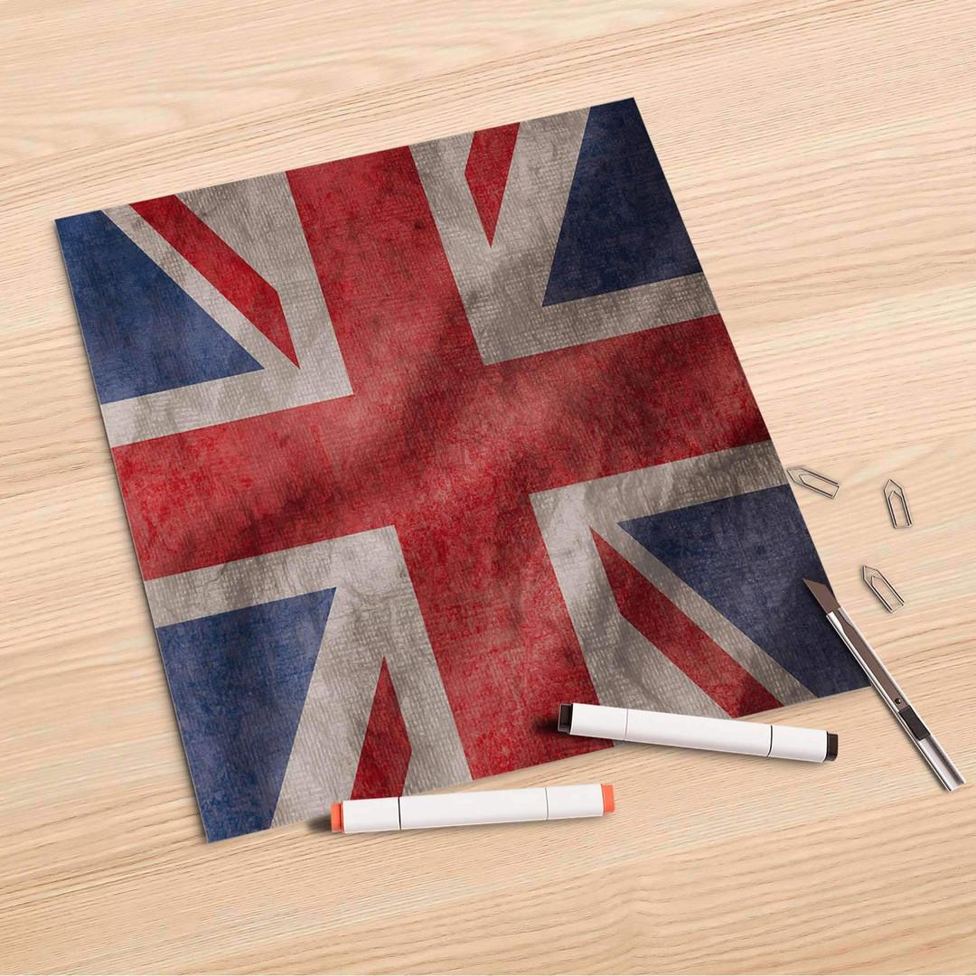 Folienbogen (30x30cm) - Union Jack - CR106979