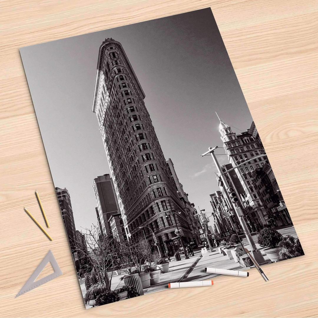 Folienbogen (80x120cm) - Manhattan - CR107366