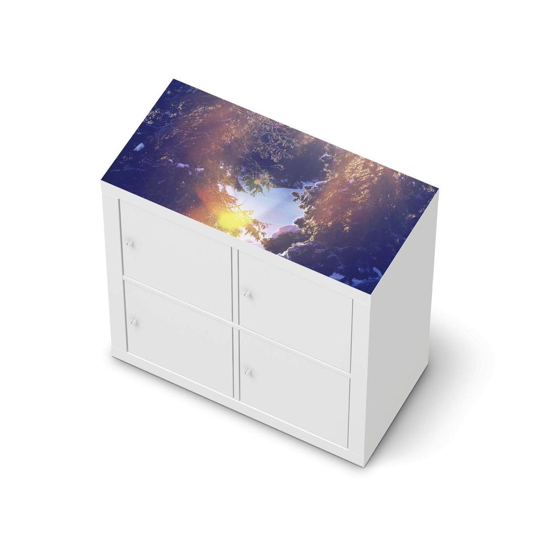 Möbelfolie IKEA Expedit Regal oben - Lichtflut - CR114645