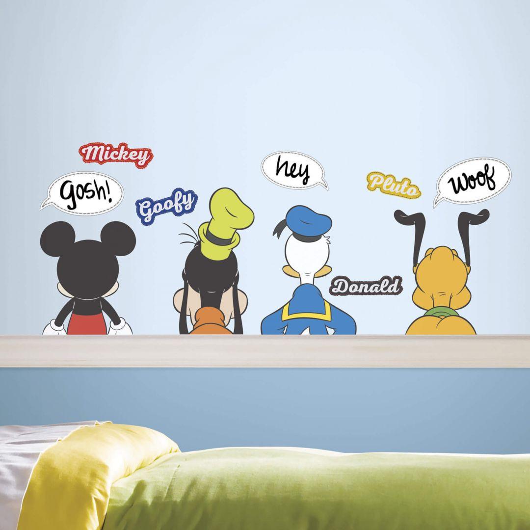 Wandsticker Disney Mickey Mouse und seine Freunde - WA260076