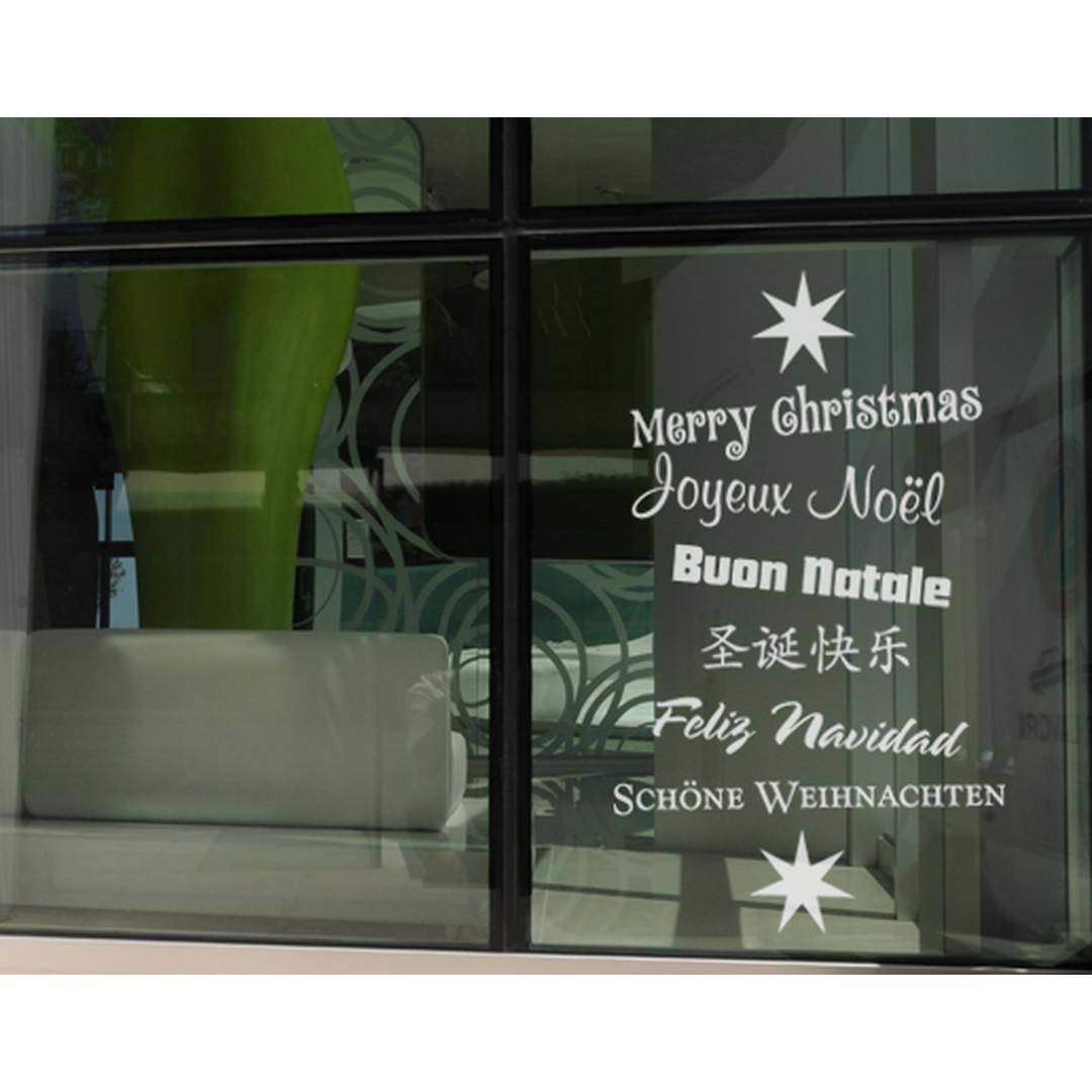 Glasdekor X-mas Greetings - CG10248
