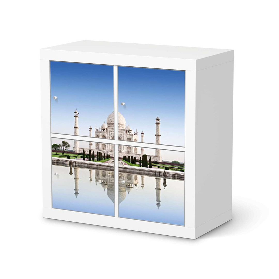 Möbelfolie IKEA Expedit Regal 4 Türen - Taj Mahal - CR114593